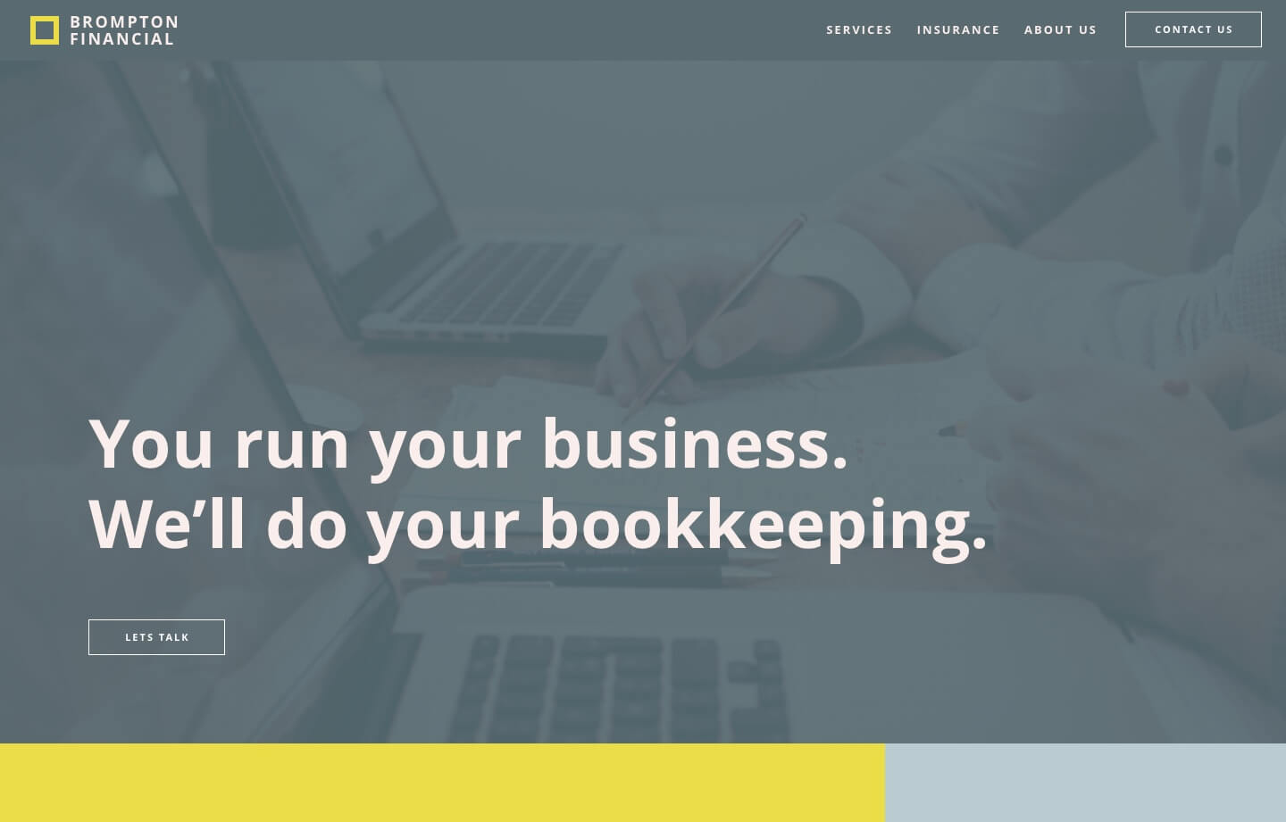 cpa and accounting firm brompton financial website